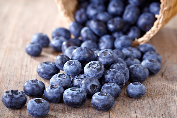 Blueberries for healthy liver